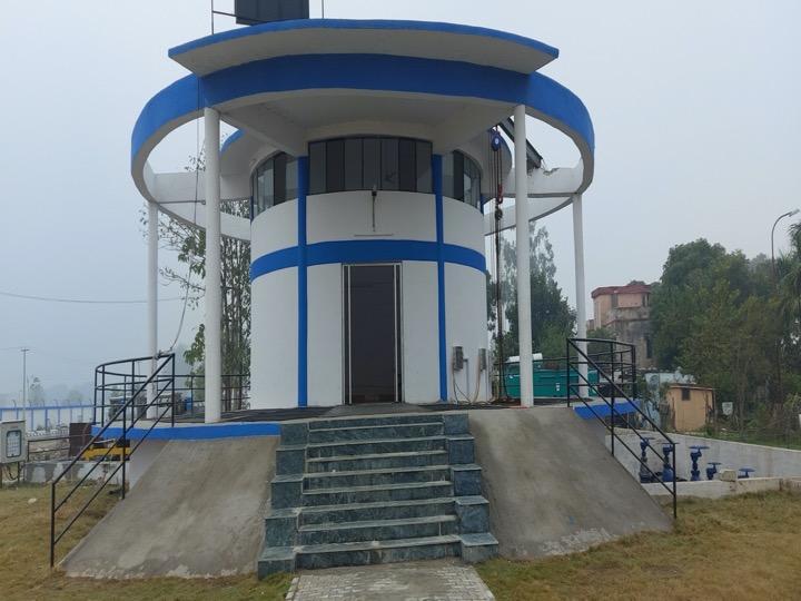 Uttarakhand's largest capacity SPS of 100 MLD at Jagjeetpur New, Haridwar